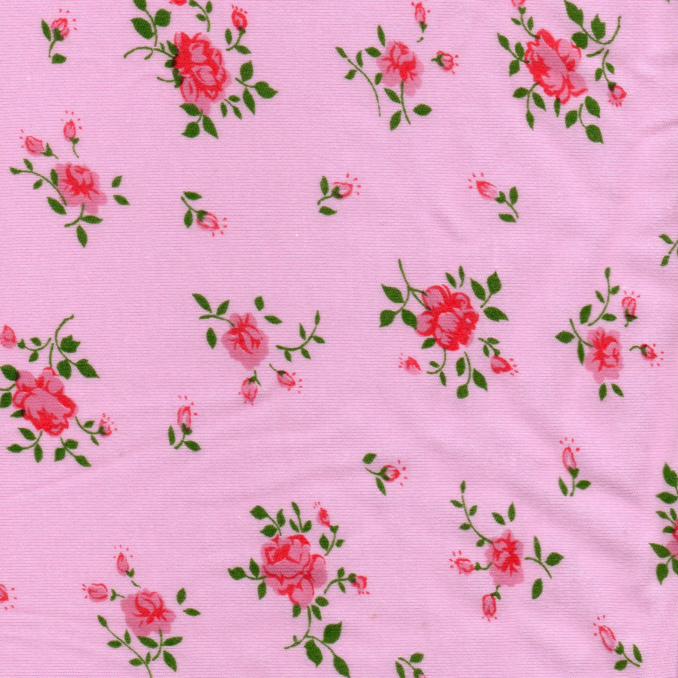 Coton fleuri rose