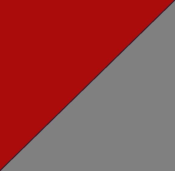 Rouge/gris