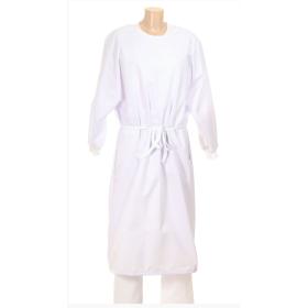 Sur-blouse blanche lavable