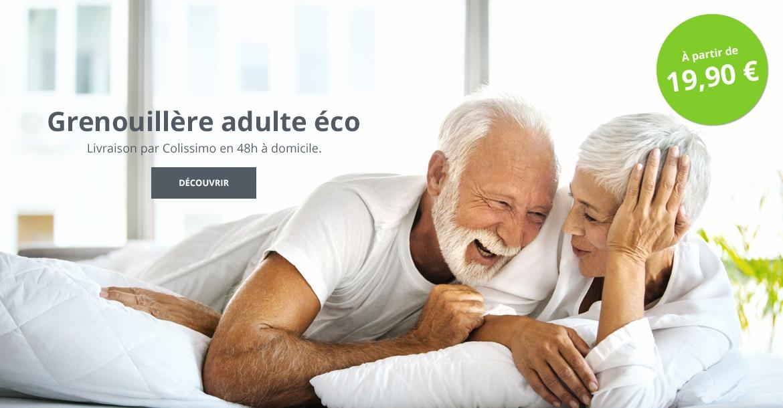 Grenouillère adulte éco